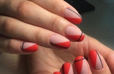 40+ Simple Line Nail Art Designs You Need To Try Now