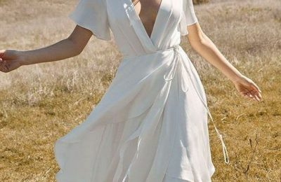 36 Simple Kinds of Wedding Dresses Give You Unique Experience