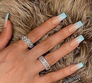 35  Trendy Nails New Trend Are Perfect for This Summer 2019 nails;summernails;summernails2019;longnails;nailstyle;naildesigns;nail addict ;the glitter nail