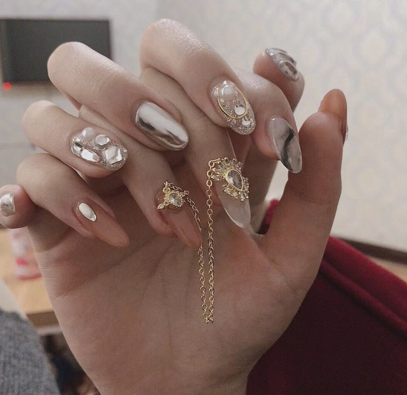 39 wedding nail Art For Brides Ideas