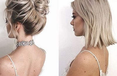 35+ Stylish Wedding Hairstyles for Short Hair in 2020