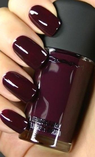 35 amazing solid-colored manicure trends practical nail color ideas